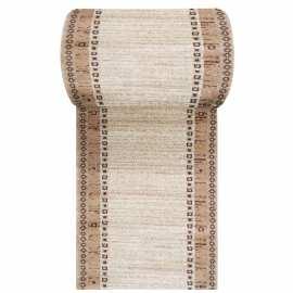 Beżowy chodnik dywanowy Fantazja 05 - szerokość od 60 do 120 cm