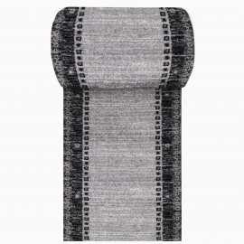Szary chodnik dywanowy Fantazja 05 - szerokość od 60 do 120 cm