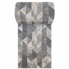 Szary chodnik dywanowy Vista 01 - szerokość od 60 do 120 cm