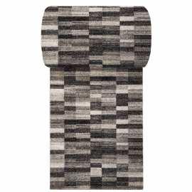 Brązowy chodnik dywanowy Panamero 01 - Szerokość od 60 do 120 cm