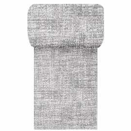 Szary chodnik dywanowy Vista 06 - szerokość od 60 do 120 cm