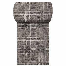 Szary chodnik dywanowy Panamero 09 - Szerokość od 60 do 150 cm