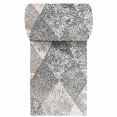 Szary chodnik dywanowy Vista 05 - szerokość od 60 do 120 cm