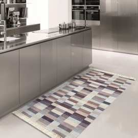 Chodnik do kuchni nowoczesny Blanka 01 - brązowy