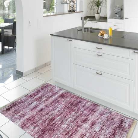 Chodnik kuchenny nowoczesny Blanka 02 - lila