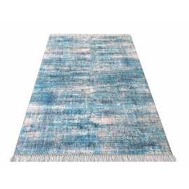 Niebieski chodnik nowoczesny Blanka 02