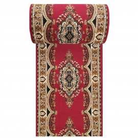 Czerwony chodnik dywanowy BCF Alfa 06 - szerokość od 60 do 150 cm